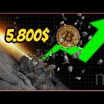 💎5800$💎 ¡BITCOIN! ¿VOLVEREMOS A 3000$? ✔️ (Análisis Técnico)