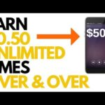 Earn $.50 Unlimited Times Over and Over Again! [Make Money Online]