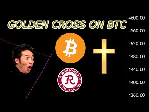 Bitcoin LIVE : BTC Has Officially Golden Crossed! Episode 470 - Crypto Technical Analysis