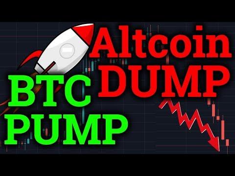 Bitcoin PUMP + BTC Golden Cross?! Altcoins DUMPING! Cryptocurrency News/Analysis + Bitmex Trading
