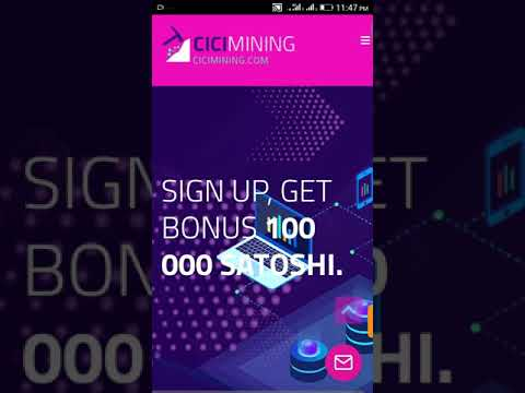 NEW FREE BITCOIN MINING WEBSITE.FREE EARN DAILY $100 DOLLARS