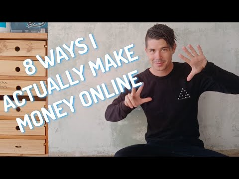 8 Ways I Actually Make Money Online