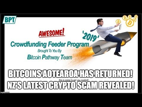 Bitcoins Aotearoa Has Returned! NZ's Latest Crypto Scam Revealed!