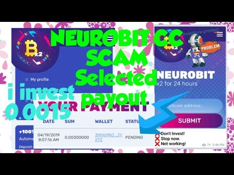 #Scam#Neurobit.cc#NotPaying#StopInvestHere #ScamAlertDetected #100%Scam