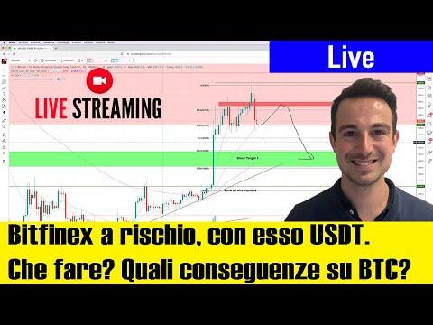 Bitcoin inciampa a causa di Bitfinex e Tether USDT? Quali CONSEGUENZE? News e Analisi di Mercato
