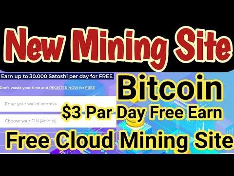 btconlinepool.com New Bitcoin Mining Site  Bitcoin Cloud Mining Site  Free Bitcoin Mining Site
