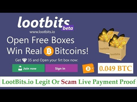 Lootbits io   Bitcoin loot boxes! | Lootbits io Legit Or Scam Live Withdrawal Payment Proof in Hindi