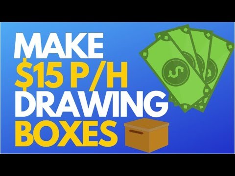 How To Make Money Drawing Boxes On Photos [Make Money Online]