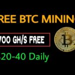 NEW BTC CLOUD MINING SITE | FREE BITCOIN MINING SITE