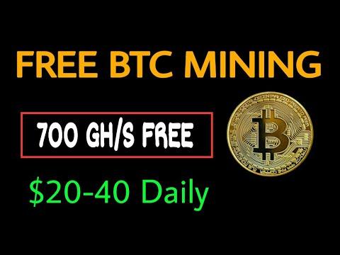 NEW BTC CLOUD MINING SITE | FREE BITCOIN MINING SITE