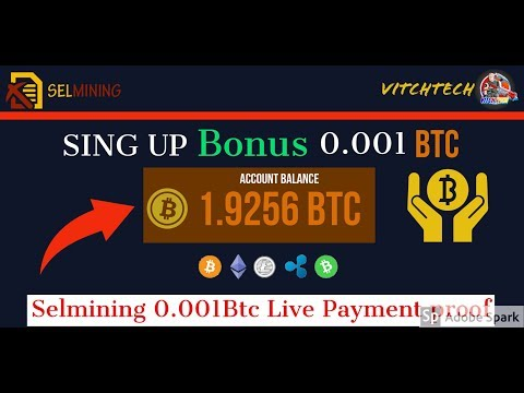 SelMining | Earn Free Bitcoin New Mining Site 2019 | Earn Daily 300$ Live Payment Proof