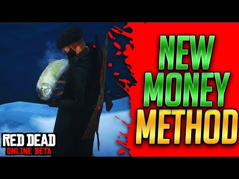 I DIDN'T EVENT KNOW THIS WAS A PLACE TO MAKE MONEY! Red Dead Online Money Method (RDR2 Online Money)