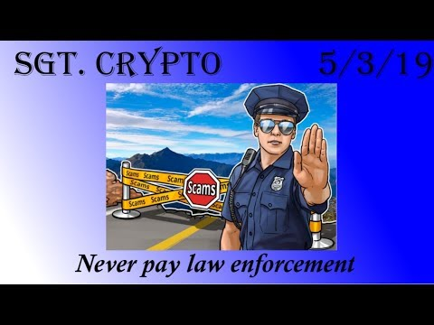 NYPD Stopping Bitcoin Scam, & Gold Council Blinks clap back at #dropgold