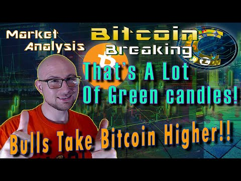 Holy Green Candles Batman!  Breaking Bitcoin Market Update - Live Cryptocurrency Analysis & Requests