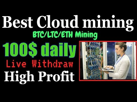 World best cloud mining | Earn 100$ daily | Live withdraw | innovamine | Bitcoin mining 2019