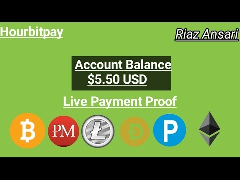 Hourbitpay [ Bitcoin Mining Website Investment Site Live Payment Proof [ I AM RIAZ ANSARI ]