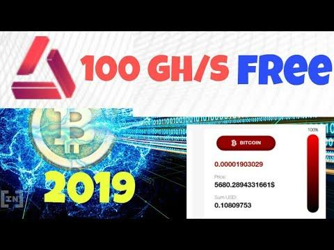 Free 100 GH/S  2019 Mining