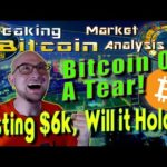 Bitcoin Hits 6000!  BitFinex Legal Problems – Will They Be Fugitives? Breaking Bitcoin Market Update