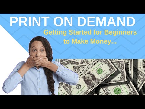 POD Beginners Make Money Online Fast | Making Money with Print on Demand | POD Shopify