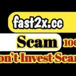 fast2x.cc Scam 100% | don't Invest fast2x.cc Double Bitcoin Site |Fast2x.cc Scam Site