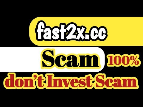 fast2x.cc Scam 100% | don't Invest fast2x.cc Double Bitcoin Site |Fast2x.cc Scam Site