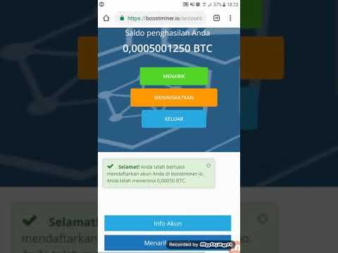 1000% Legit Mining Bitcoin Gratis 0.0005 (info web legit)