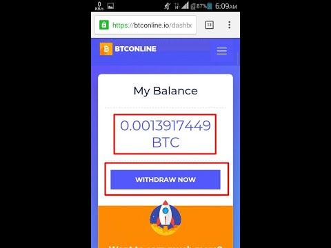 ბიტკოინის გამომუშავება BTConline new bitcoin mining site!!! just sign up to earn BTC!!!