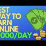 Best Way To Make Money Online As A Broke Beginner 2019! (No Money Needed)