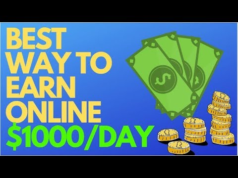 Best Way To Make Money Online As A Broke Beginner 2019! (No Money Needed)