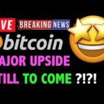 Bitcoin MAJOR UPSIDE STILL TO COME?! 📈 -LIVE Crypto Trading Analysis & BTC Cryptocurrency News 2019