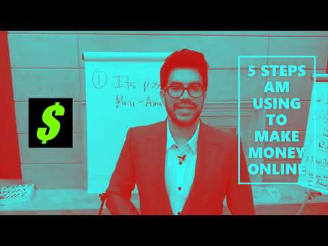 Active Smart Minds 5 STEPS AM USING TO  MAKE MONEY ONLINE  PART 1