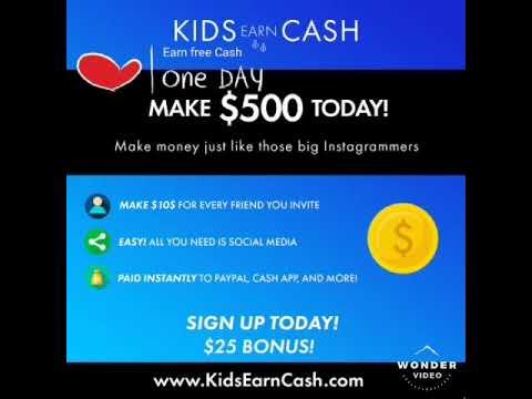 KidsEarnCash.com | KidsEarnCash.com/share/Izaz93 | Make money online with Kids Earn Cash