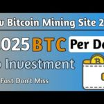 Earn 0.025 BTC Per Day | New Bitcoin Mining Site | Earn Bitcoin