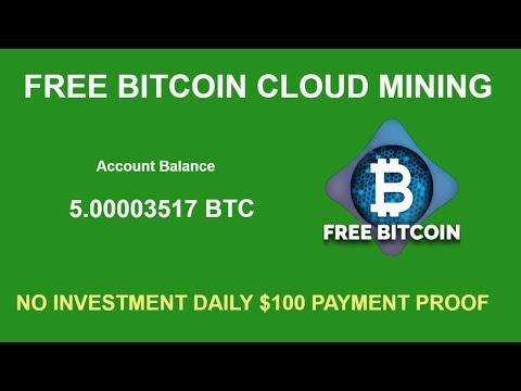 NEW FREE BITCOIN CLOUD MINING SITE | BEST FREE MINING BONUS GH/S