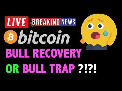 Bitcoin BULL RUN RECOVERY OR TRAP?! - LIVE Crypto Trading Analysis & BTC Cryptocurrency Price News