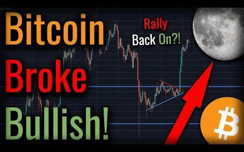 BITCOIN RALLY RESUMES! – Bitcoin RALLIES To $8,000!