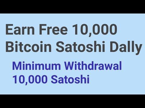 Earn Free 10,000 Bitcoin Satoshi Dally || New Free Cloud Mining 2019