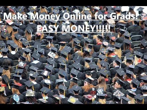 How to make money online for highschool graduate! EASY!! #makemoneyonline #grad2019