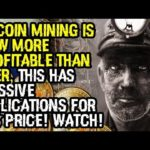 BITCOIN MINING IS NOW MORE PROFITABLE THAN EVER, This Has MASSIVE IMPLICATIONS For BTC PRICE! WATCH!
