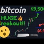 HUGE BITCOIN BREAKOUT TO $9,500 – $10,000?!? | Ledger Nano X | AT & T | Coinstar