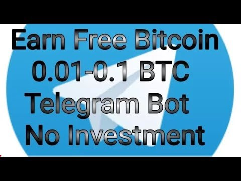 Start Bitcoin Mining New Telegram Bot।No investment।Free Earn 100%