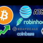 AT&T Accepts BITCOIN & CRYPTO – Robinhood NY – Grayscale Ether Trust – Rep Eric Swendell Crypto
