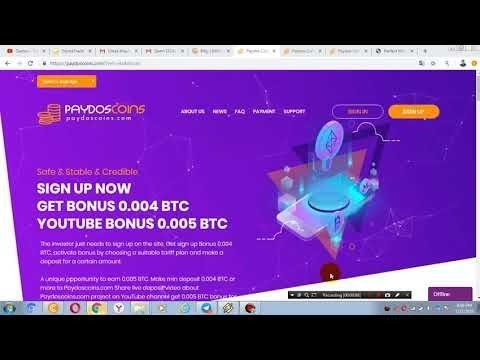 GET Bonus 0 004 BTC   Best Bitcoin Mining   free no investment