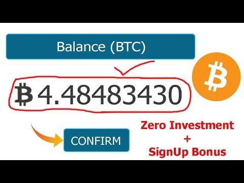 New Free Bitcoin Mining Website Signup Bonus Free Earn Bitcoin Everyday ?
