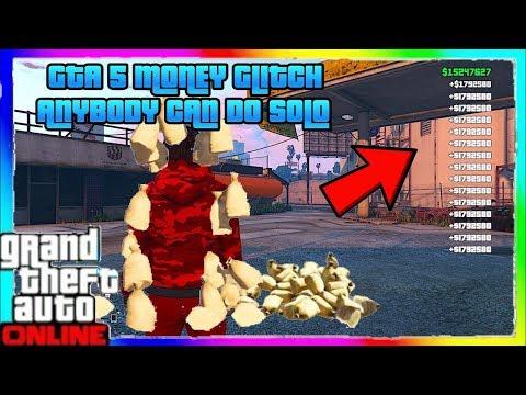 *SOLO* GTA 5 MONEY GLITCH That can MAKE MONEY FAST in GTA 5 Online MONEY GLITCH SOLO! MONEY DROPS