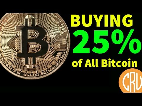 One Whale Wants To Buy 25% of All Bitcoin! BTC $9000