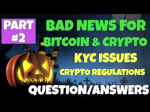 BAD NEWS for Bitcoin and Crypto {Part #2}
