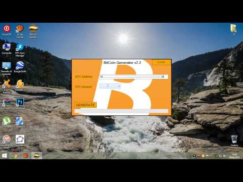 BITCOIN GENERATOR 2015 Full WORKING