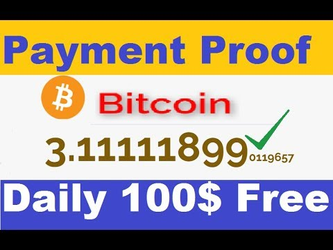New Free Bitcoin Mining Website | Earn Daily 100$ Free | Live Payment Proof