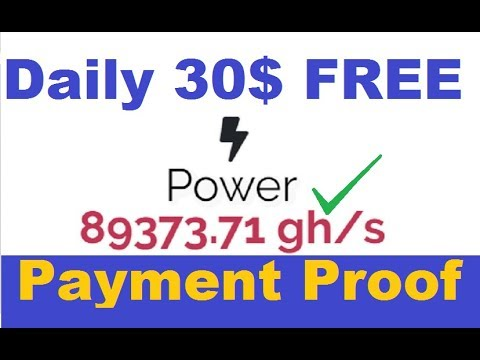 Biggest Paying Free Bitcoin Cloud Mining Website | Earn Daily 30$ Free | No Work | Live Payment